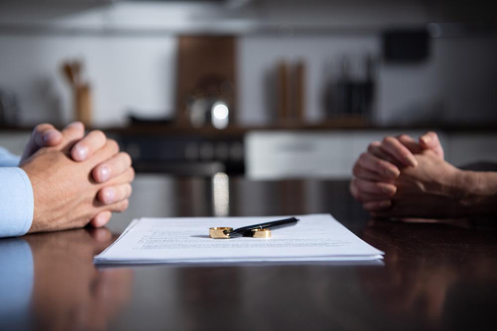 Haus Scheidung Zugewinn Hände