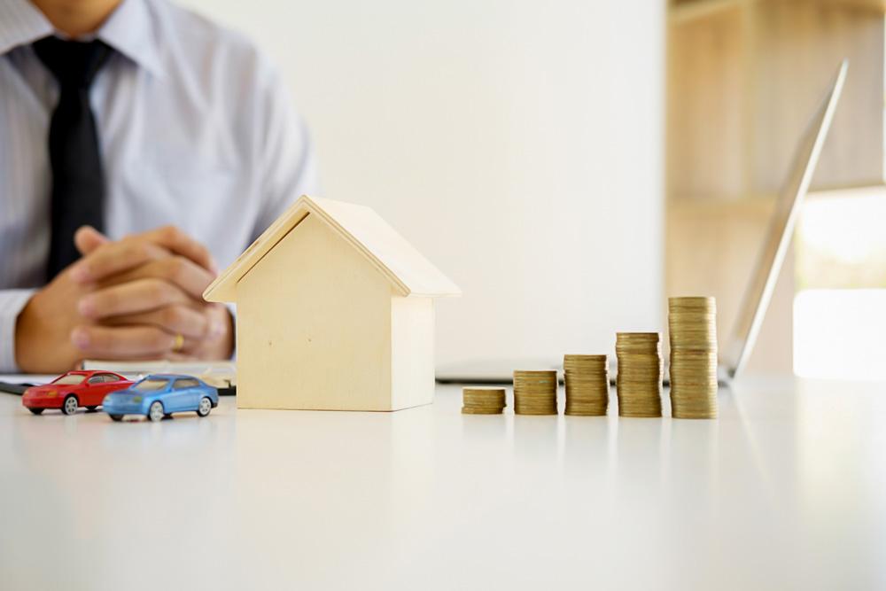 Haus Geld Verkauf Makler